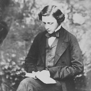 Self-portriat of Lewis Carroll, circa 1858 (Photo By Lewis Carroll)