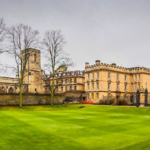 The Garden Quadrangle, New College, Oxford (Photo by Randy Connolly)