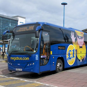 Megabus coaches can be amazingly cheap, if not speedy or overly comfy (Photo by Glen Wallace)