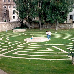The Beazer Gardens Maze (Photo by Richard Black)