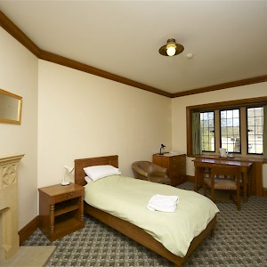 A Grove Quad Single (ensuite) inside the walls at Magdalen College (Photo courtesy of the university)