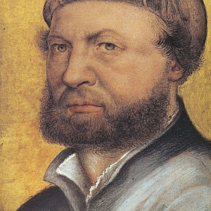 Self Portrait of Hans Holbein the Younger (1542/43) at the Uffizi Galleries, Florence (Photo courtesy of the Uffizi Gallery)
