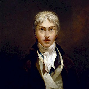 Self Portrait (c. 1799) by J.M.W. Turner, at the Tate Britain (Photo courtesy of the Tate Britain)